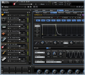 Downloadable sounds for Steinberg's Halion Sampler Software